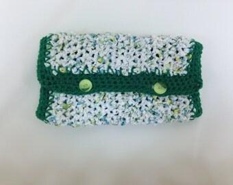 Crochet Portable Changing Pad