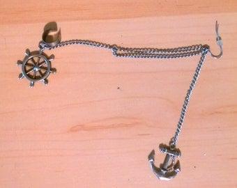Nautical Ear Cuff
