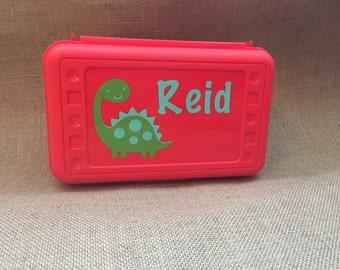 Crayon/pencil box with name
