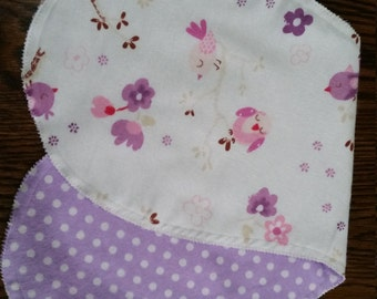 Burp cloth/rag flannel