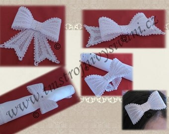 Lace ribbon-FSL-original lace design