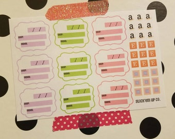 items similar to customer orders tracker for origami owl