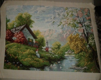 "Wall Tapestry ""Spring in April"""