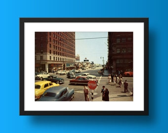 Vintage Photograph Print - Hollywood 1950s