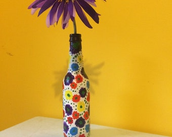 Flower Vase ( comes with accent flower)