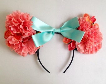 Floral Spring Disney Ears