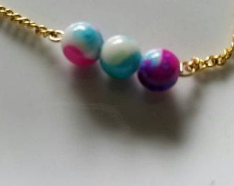 Little girls beaded necklace