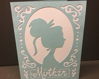 Mother swirls card!
