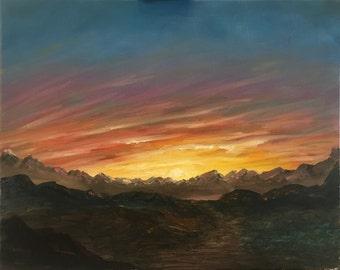 Southern California Sunset Study #2