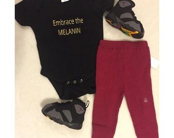 Embrace the MELANIN onesie