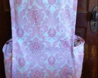Pink No Tie Apron