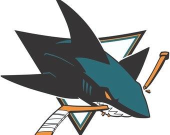 San Jose Sharks NHL Decal/Sticker
