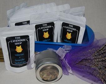Valerian + Lavender  Tea