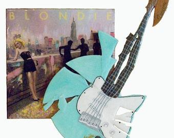 Blondie - Vinyl Sculpture