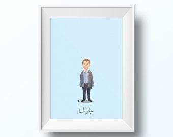Leonardo DiCaprio - Inception Poster
