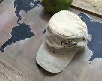 Recycled Brazilian Military Hat