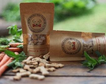 Carrot & Mint healthy dog treats