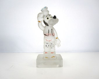 Vintage glass figurine from Walt Disney