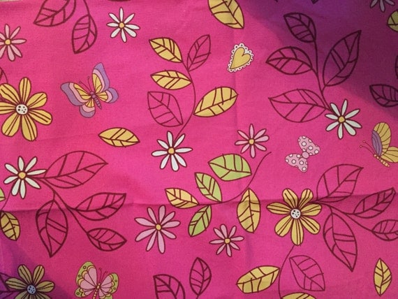 Pink Purple Brown Green And Yellow Home Decor Fabric For My