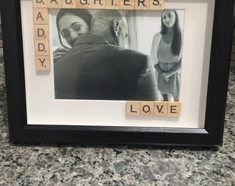 Daddy Daughter Shadowbox Frame
