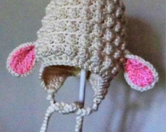 Infant Lamb Hat
