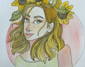 Sunflower Sunday Prints