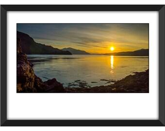 Sunset in Skye