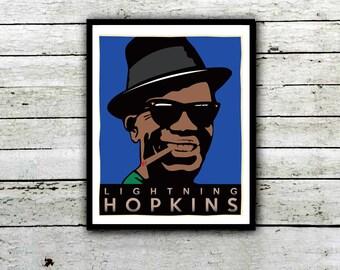 Lightning Hopkins - Mojo Hand , Baby Please Dont Go, Leavnin Blues,
