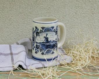 Vintage beer mug from Holland