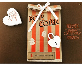 confetti wedding favor bags