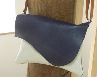 Bag shoulder leather 3 colors