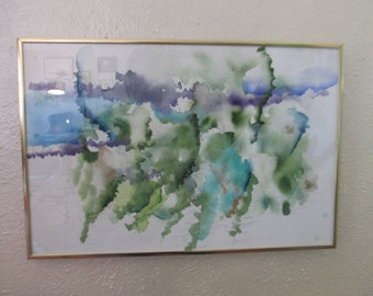 Original one-of-a-kind watercolor painting!