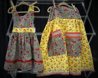 Adult high waist apron