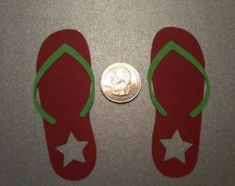 A46 - Flip Flops (Red)