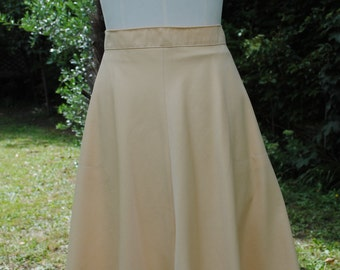 Skirt 100% wool 1970 Georges Rech