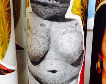Venus of willendorf candle vela
