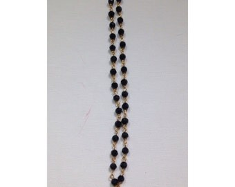 Rosary Spike Necklace