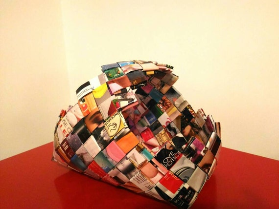 Handmade paper basket dailymotion : Handmade woven paper basket