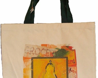 100% cotton totebags with unique Fruit and Vegetable designs