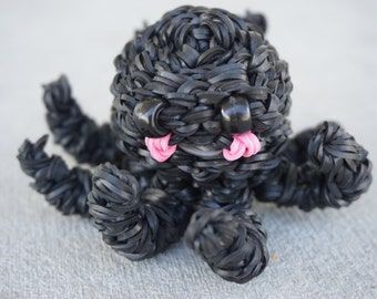 Ranbow Loom Black Octopus
