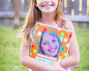 Custom Planner for Kids Aug 2016/July 2017 School Year