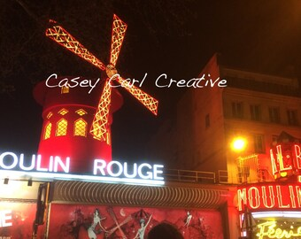 Moulin Rouge Photograph