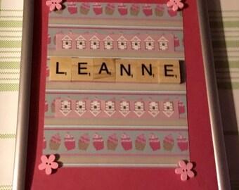 Scrabble letter name