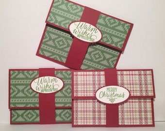 Holiday Gift Card Holder/Wallet