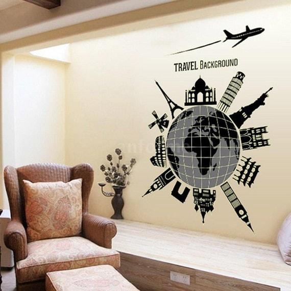 Jual Wall Art Murah : Wall sticker world map jual images beli