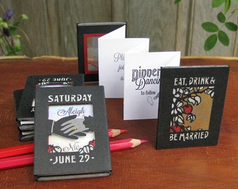 One-of-a-Kind Rustic Wedding Invitation
