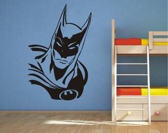 Batman Vinyl Silhouette Vinyl Wall Art