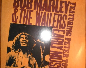 Bob Marley & The Wailers Early Music Featuring Peter Tosh PZ-34760 Vinyl Record LP 1977
