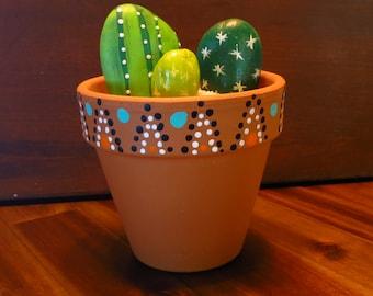 Stone Cactus Garden