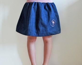 Balloon skirt, denim skirt, size 74-164